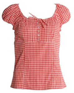 Lady Dutch Gingham Shirt $42