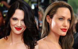 Asia Argento & Angelina Jolie in Cannes