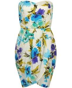 Floral Tulip Hem Dress $27.80