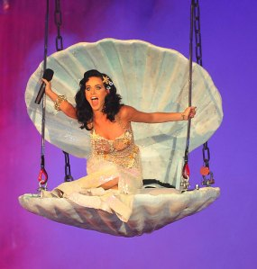 Katy Perry Performing at the Life Ball in Vienna