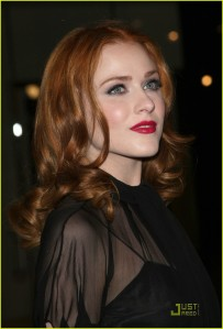 Evan Rachel Wood Rocking Red