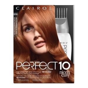 "Clairol Perfect 10 By Nice 'N Easy, ""Medium Reddish Blonde"" $15.99"