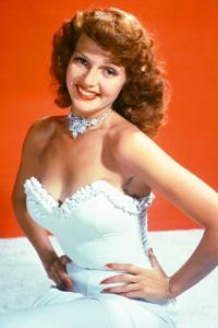 Rita Hayworth's Classic Red