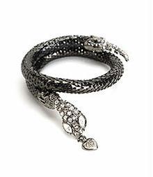 Betsey Johnson Snake Bracelet $56