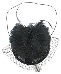 Forever 21 Feather Veil Head Piece $15.80
