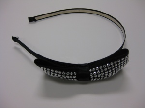 Le Chateau Black Studded Headband $9.95
