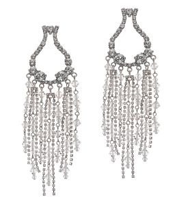 Aldo Crivaro Chandelier Earrings Made With Crystallized Swarovski Elements $100