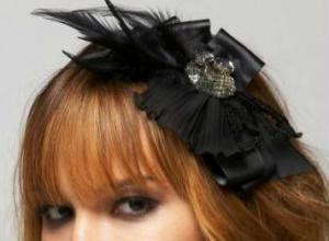 Bebe Crystal Brooch Headband, $39 U.S.
