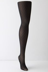 Luxe Dotted Tights
