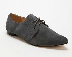 Urban Outfitters Suede Oxfords