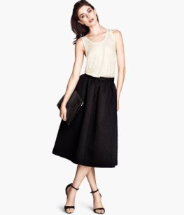 H&M Wide Skirt, $59.95