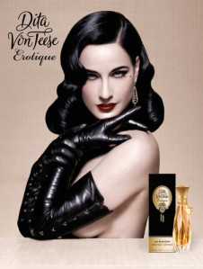 Dita Von Teese Erotique Ad