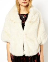 ASOS Premium Faux Fur Stole, $88.72 at asos.com