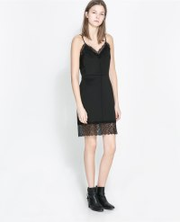Zara Lingerie Style Dress, $59.90